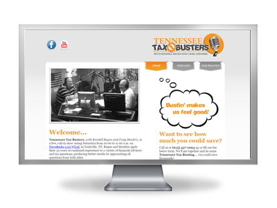 Tennessee Tax Busters website